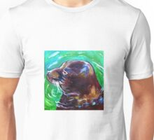 Monk Seal Wildlife Painting Ocean Art Unisex T-Shirt