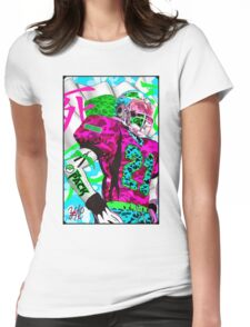 YUNG FOOTBALL Womens Fitted T-Shirt