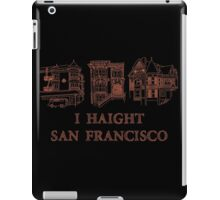 I Haight San Francisco Orange iPad Case/Skin