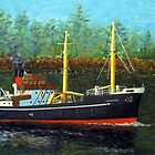 The S.S.Guiness  by WILT