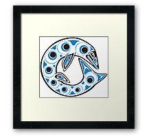Haida Globidens Framed Print