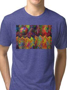 Moon Over Manhattan Tri-blend T-Shirt