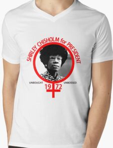 Shirley Chisholm For President Mens V-Neck T-Shirt