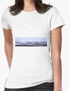 Sky Blue Hills Of The Tonto Womens Fitted T-Shirt