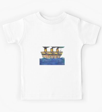 The Mysterious Ship Kids Tee
