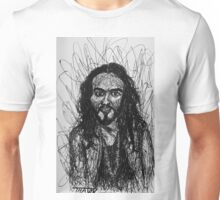 Russell Brand Scribble Style Art Unisex T-Shirt