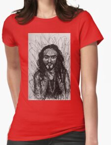 Russell Brand Scribble Style Art Womens Fitted T-Shirt