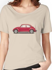 1970 Volkswagen Beetle - Royal Red Women's Relaxed Fit T-Shirt
