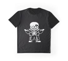 CHEAP UNDERTALE SANS WHITE any background Graphic T-Shirt