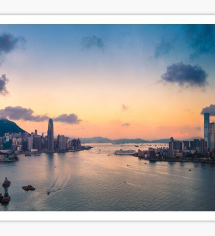 HONG KONG 09 Sticker