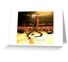 Kenny Chesney Live in Concert by kempot Greeting Card
