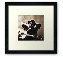 Hank Williams Jr. Framed Print