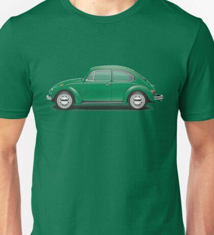 1971 Volkswagen Super Beetle - Elm Green Unisex T-Shirt