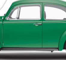 1971 Volkswagen Super Beetle - Elm Green Sticker