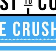 Coast To Coast Wave Crushers Sticker