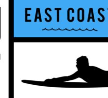 Surf East Coast  Sticker