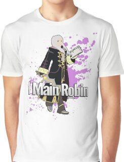 I Main Robin (Female Alt) - Super Smash Bros Graphic T-Shirt