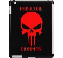 Runescape Hardcore Ironman Skull iPad Case/Skin