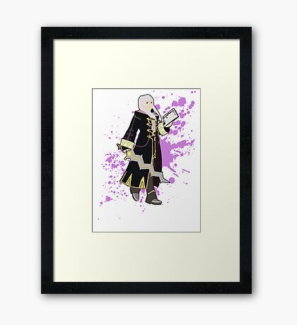 Robin (Female Alt) - Super Smash Bros Framed Print