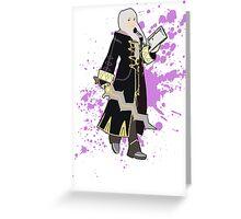Robin (Female Alt) - Super Smash Bros Greeting Card
