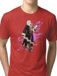 Robin (Female Alt) - Super Smash Bros Tri-blend T-Shirt