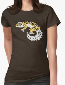 Leopard Gecko - Normal Morph Womens Fitted T-Shirt
