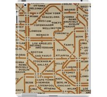 Travel by tube iPad Case/Skin