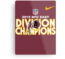 Washington Redskins - 2015 NFC East Champions Metal Print