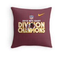 Washington Redskins - 2015 NFC East Champions Throw Pillow