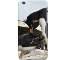 "Rockhopper Penguins ~ ""Love Is"" iPhone Case/Skin"