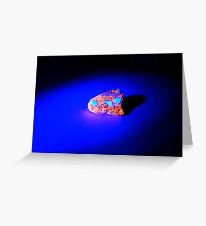 Lightsaber Crystal (STARWARS) Greeting Card