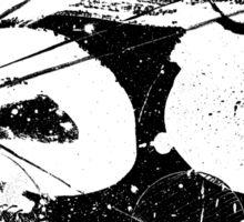 Gonzo Zodiac - Cancer (white) Sticker