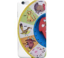 See N Say! iPhone Case/Skin
