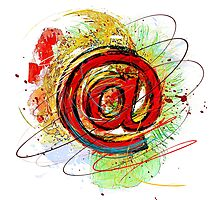 Email Internet Photographic Print
