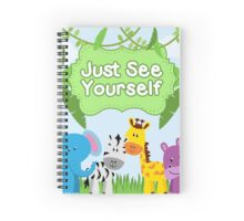 Just See Yourself (Design no. 1) Spiral Notebook