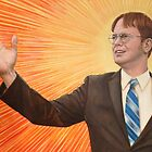 Dwight  Schrute The Messiah by harrisonbrowne