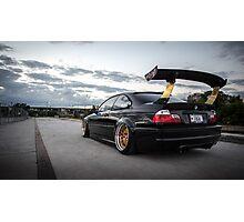 BMW E46 M3 Photographic Print