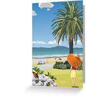 Langs Beach - Northland, New Zealand Greeting Card