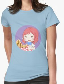 LOVE LIVE! Crep Maki Womens Fitted T-Shirt