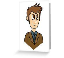 Doctor Who - David Tennant Greeting Card