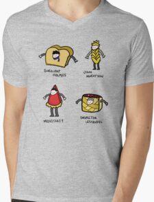 Bakery Street & Shortcake Yard Mens V-Neck T-Shirt