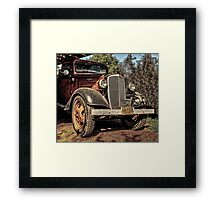 Cool 1936 Chevy Truck Framed Print