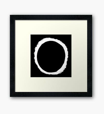 Eclipse Shirt (Dan Howell)  Framed Print