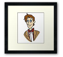 Doctor Who - Matt Smith Framed Print