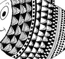 'Cedric' the fish Sticker