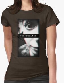 Trip to Wonderland Womens Fitted T-Shirt