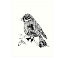 'Beaker' the bird Art Print