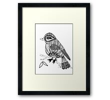 'Beaker' the bird Framed Print
