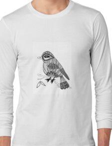 'Beaker' the bird Long Sleeve T-Shirt