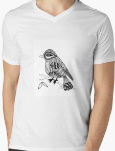 'Beaker' the bird Mens V-Neck T-Shirt